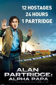 DHS- Alan Patridge alternate movie poster international