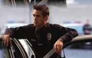 DHS- officer Jim Street (Colin Farrell) in S.W.A.T. (2003)