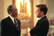 DHS- Morgan Freeman and Ben Affleck in The Sum of All Fears