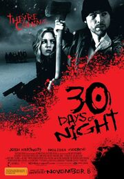 DHS- 30 Days of Night movie poster