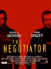 DHS- The Negotiator (1998) movie poster