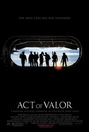 DHS- Act of Valor 2012 teaser promo poster
