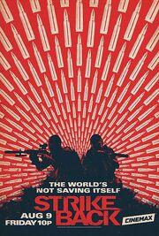 DHS- Strike Back Season 4 Shadow Warfare US poster version