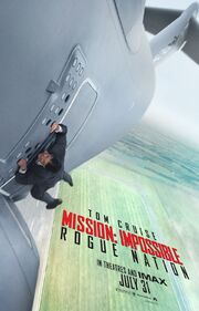 DHS- Mission Impossible Rogue Nation movie poster