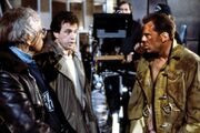 Jan de Bont, John McTiernan and Bruce Willis
