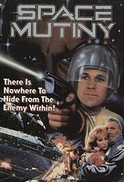 DHS- Space Mutiny vhs tape cover poster