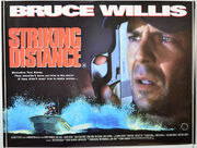 DHS- Striking Distance expanded movie poster