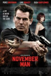 DHS- The November Man second poster version