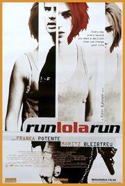 DHS- Run Lola Run 35MM movie poster 1998