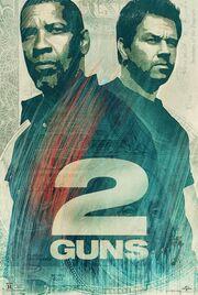 DHS- 2 Guns movie poster version number 4