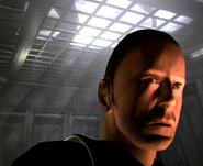 DHS- Bruce Willis as Trey Kincaid in PS1 videogame Apocalypse