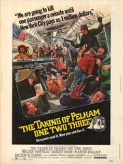 DHS- Taking of Pelham One Two Three original version poster