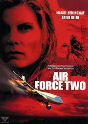 DHS- Air Force Two AKA In Her Line of Fire movie dvd cover case alternate foreign version