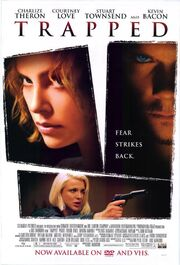 DHS- Trapped (2002) home video movie poster