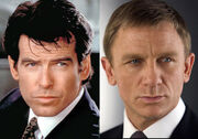 DHS- James Bond character (Pierce Brosnan and Daniel Craig versions- GoldenEye and Casino Royale respectively)