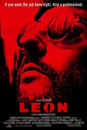 DHS- Leon the Professional movie poster