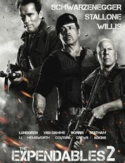DHS- The Expendables 2 (2012) alternate movie poster with three lead actors