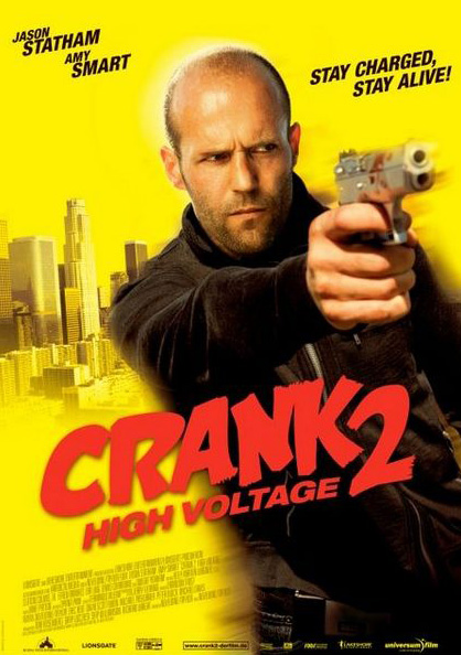 Crank High Voltage Promoted As Crank  High Voltage In Some Regions And On Dvd Is A  American Black Comedy Action Film And The Sequel To The