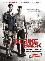DHS- Strike Back (Project Dawn) Season 2 poster (USA version)