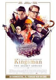 DHS- kingsman the secret service poster
