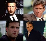 DHS- Jack Ryan portrayals (Alec Baldwin in Red October, Harrison Ford in Patriot Games, Ben Affleck in Sum of All Fears, Chris Pine in Shadow Recruit)