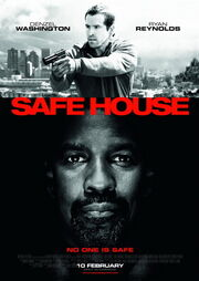 DHS- Safe House movie poster (2012)