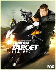 DHS- Human Target Season 2 poster
