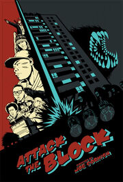 DHS- Attack the Block alternate animated comic book style movie poster version