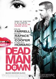 DHS- Dead Man Down (2013) movie poster