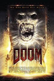 DHS- DOOM movie poster