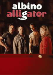 DHS- Albino Alligator alternate movie poster
