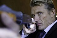 DHS- Dolph Lundgren as Icarus in THE KILLING MACHINE