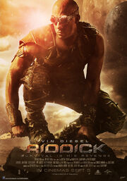 DHS- Riddick 2013 main movie poster artwork