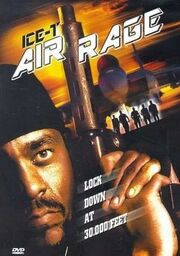 DHS- Ice-T in AIR RAGE (2001) DVD Cover