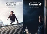 DHS- Spooks The Greater Good movie posters