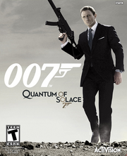 DHS- 007 Quantum of Solace videogame
