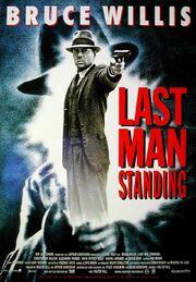 DHS- Last Mand Standing (1996) alternate movie poster version 3