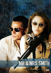 DHS- Mr. and Mrs. Smith DVD cover
