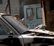 DHS- terrorist 7 sniping at FBi agents and killed by FBI sniper in Detonator (2003)
