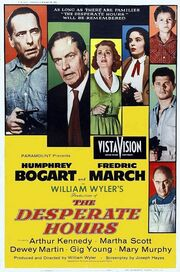 DHS- Desperate Hours (1955) original movie poster