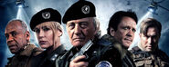 DHS- Danny Glover, Daryl Hannah, Rutger Hauer, Michael Madsen and Stephen Baldwin in Death Squad (2014)