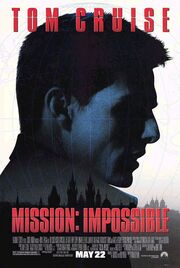 DHS- Mission Impossible (1996) movie poster