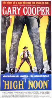 DHS- High Noon (1952) alternative movie poster
