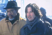 DHS- Keanu Reeves and Morgan Freeman in Chain Reaction