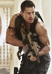 DHS- White House Down's John Cale in Action