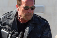 DHS- Arnold Schwarzenegger in The Expendables 3
