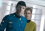 DHS- Zachary Quinto and Chris Pine in Star Trek Into Darkness