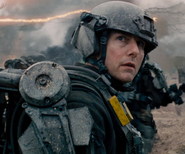 Lt. Col. Bill Cage (Cruise) in Edge of Tomorrow