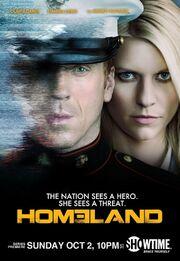 DHS- Homeland Season 1 poster