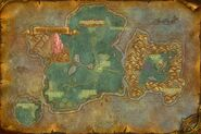 Karte Azurmythosinsel